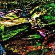 Brook Texture 127 Poster