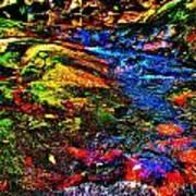 Brook Texture 52 Poster