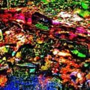 Brook Texture 54 Poster