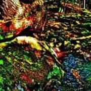 Brook Texture 58 Poster