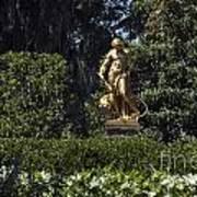 Brookgreen Golden Statue Poster