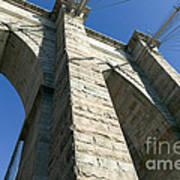 Brooklyn Bridge Tower I Poster