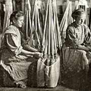 Broom Manufacture, 1908 Poster by Granger