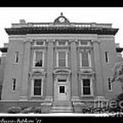 Brunswick Historical Court House Poster