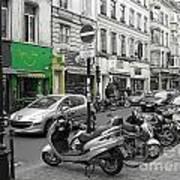 Bruxelles Street Poster