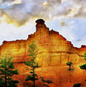 Bryce National Park Sunset Poster