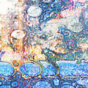 Bubbles Abstract Poster