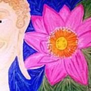 Buddha Lotus Peace Poster