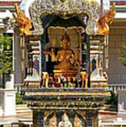 Buddha Shrine Poster