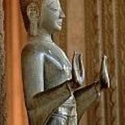 Buddha Vientienne Laos Poster
