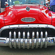 Buick With Teeth Poster