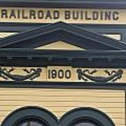 Building At Klondike Gold Rush National Poster by Michael Melford