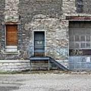 Building No.3 Garage Door Poster