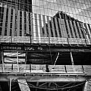 Building The American Dream Poster by John Farnan