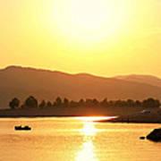 Bulgarian Sunset Poster