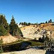 Bumpass Hell Pools Poster