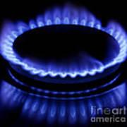 Burning Gas Poster by Fabrizio Troiani