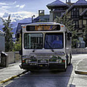 Bus To East Vail - Colorado Poster