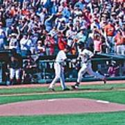 Buster Posey Runs Home Poster