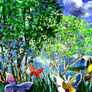 Butterfly Dance Poster