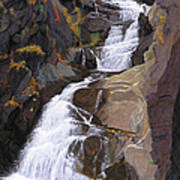 Buttermilk Falls Poster by Glen Heberling