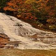 Buttermilk Falls Sate Park New York  Poster by Puzzles Shum