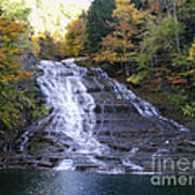 Buttermilk State Park Falls Poster