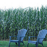 By The Cornfield Poster