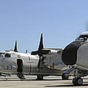 C-2a Greyhound Aircraft Start Poster