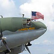 C-46 Tinker Belle Honors American Heros Poster