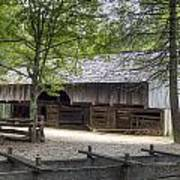 Cable Mill Barn Cades Cove Poster