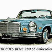Cabriolet Poster
