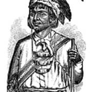 Caddo Chief, 1879 Poster