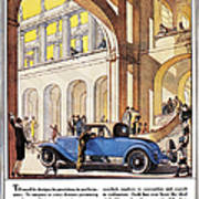 Cadillac Ad, 1927 Poster