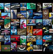 Cadillac Art Poster