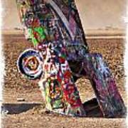 Cadillac Graveyard II - Impressions Poster
