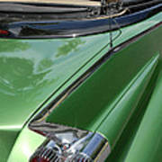 Cadillac Tail Fins Poster