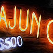 Cajun Casino - Bourbon Street Poster