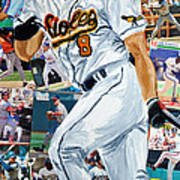 Cal Ripkin Jr Poster