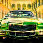 California 1970 Camaro Poster