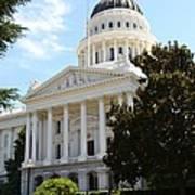 California Capitol Poster