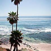 California Coastline Photo Poster