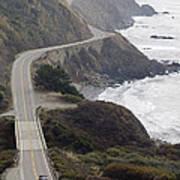California Highway 1 Or Pacific Coast Poster