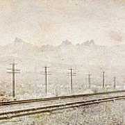 California Railroad Poster