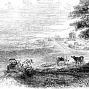 California: Vallejo, 1852 Poster
