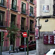 Calle De Vergara Madrid Poster