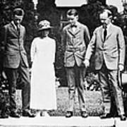 Calvin Coolidge & Family Poster