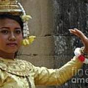 Cambodian Dancer Poster