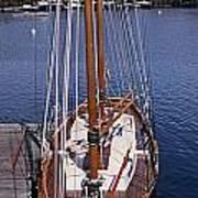 Camden Tall Ship Poster