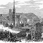 Canada: Gavazzi Riot, 1853 Poster